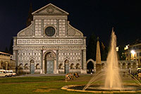 Santa Maria Novella  by night